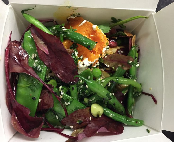 ON THE GO  at Ottolenghi.....