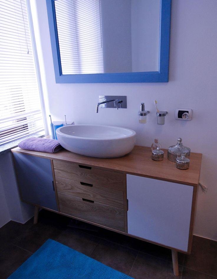 Mobile lavabo ricavato da buffet Maison Du Monde