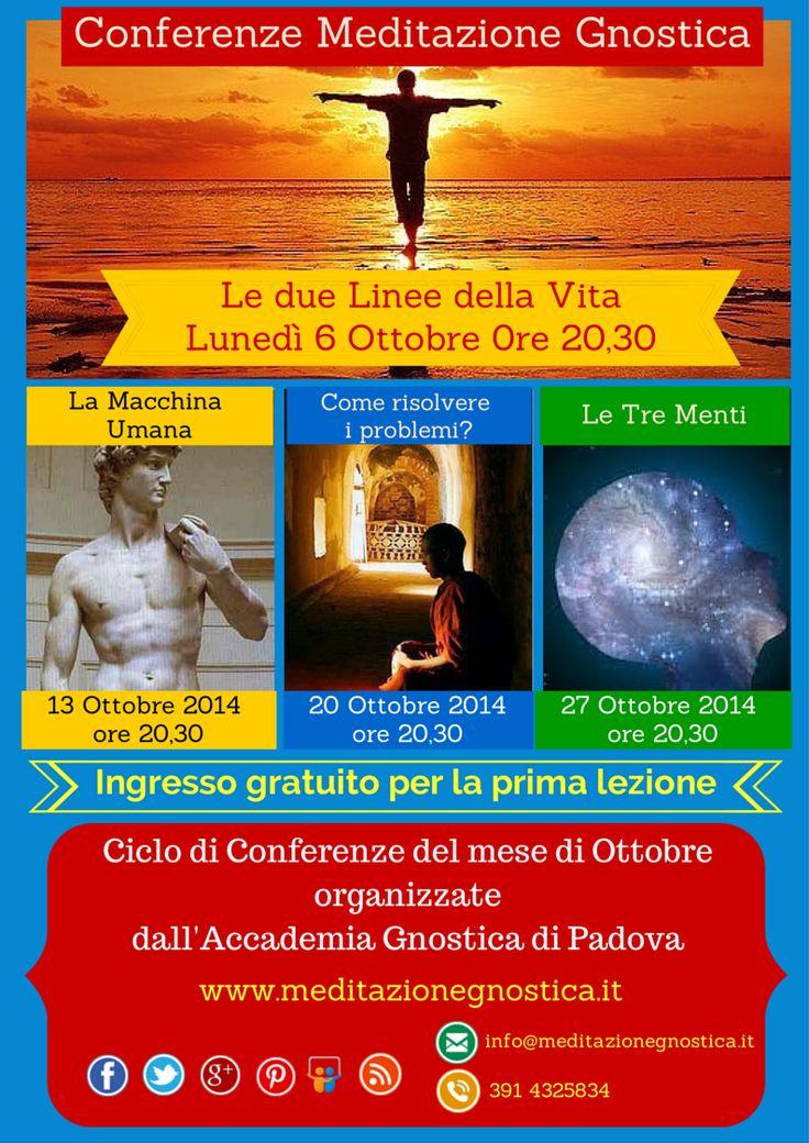 Conferenze Ottobre 2014 - Accademia Gnostica 2014