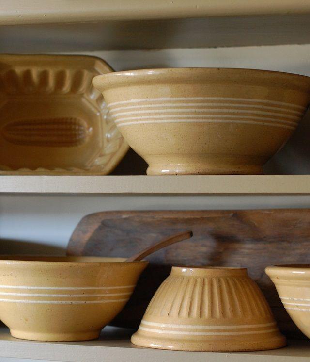 Vintage Kitchen Bowls: 678 Best Images About Primitive/Vintage Bowls On Pinterest