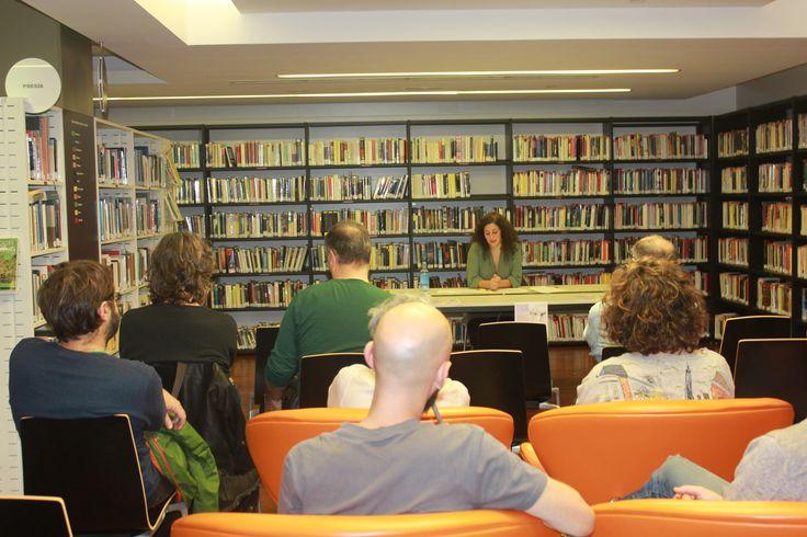 Conferencia de Lucía Castro na Biblioteca do Fórum Metropolitano (A Coruña, 18-X-2016).