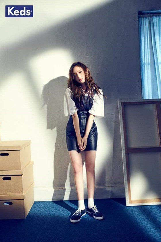 "f(x)'s Krystal Releases More Stills From ""Keds"" Photoshoot 