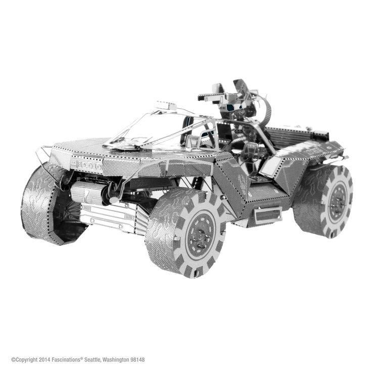 Metal Earth Halo Warthog