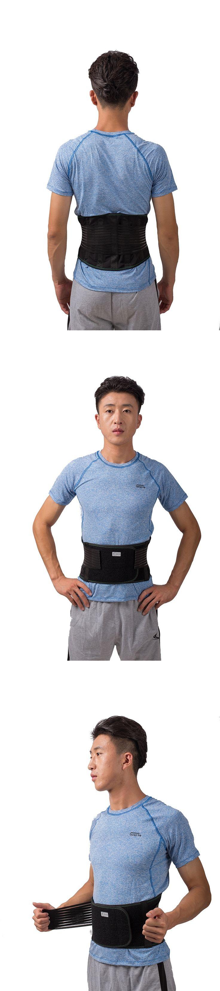 Lower Back Brace Lumbar Support Waist Belt Corset for Lumbar disc herniation or prolapse lumbar muscle strain lower thoracic