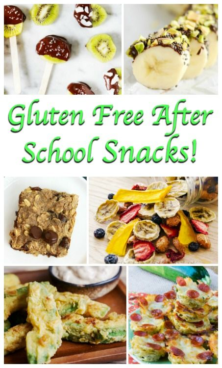 gluten free afterschool snacks – Being in school all day can take a lot of…