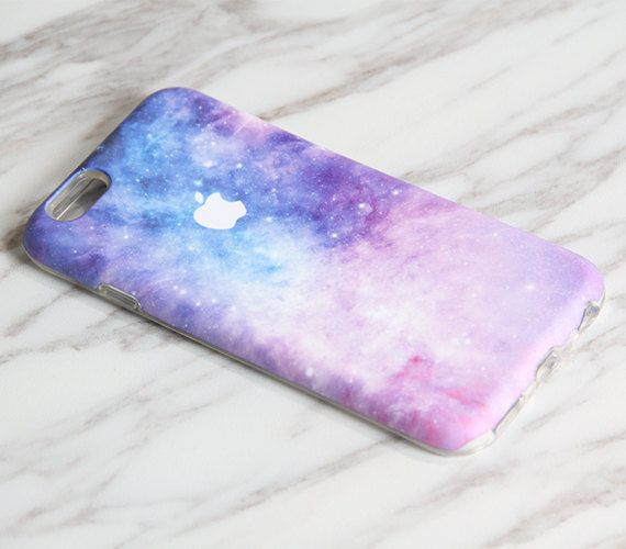 IPhone 5C de la nebulosa galaxia Pastel iPhone 6S caso iPhone