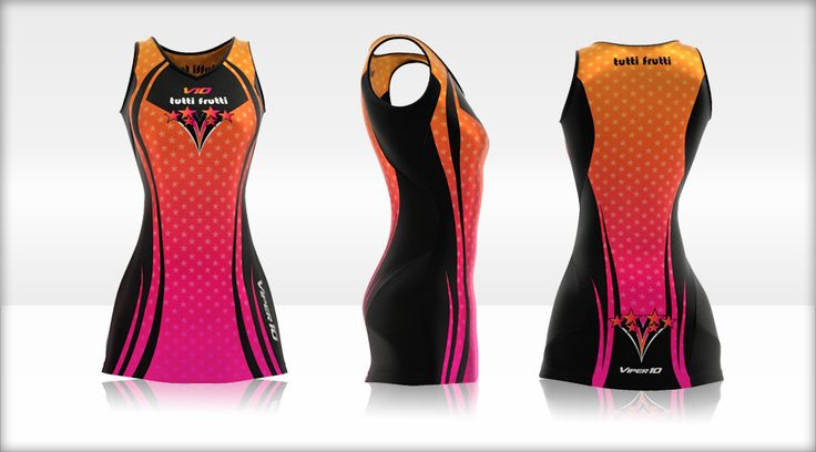 Viper 10 Netball Dress