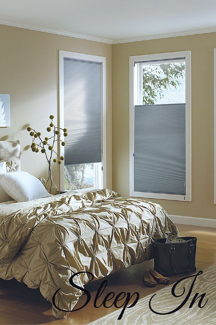 19 best images about honeycomb shades duettes cellular for Best blinds for bedroom