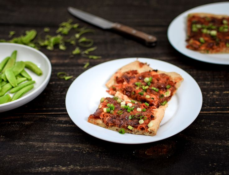 Bolognese Pizza {with ridiculously lazy dough} — bacon + egg + cheesecake