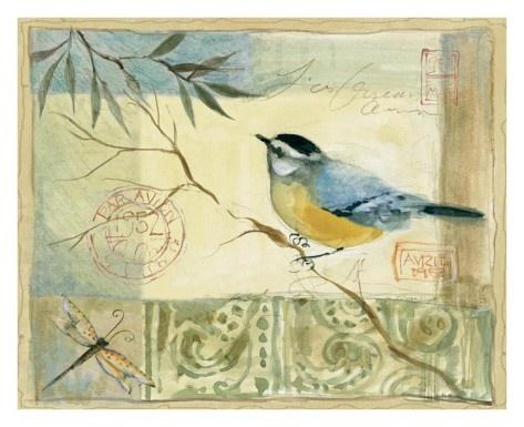 Inspiration for art journals - Golden Garden by Susan Winget