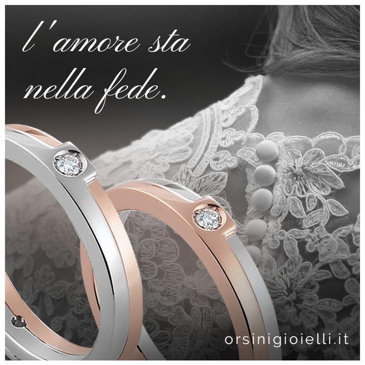 L'amore sta nella fede  #FediOrsini #weddingday #weddingring Trova la tua fede