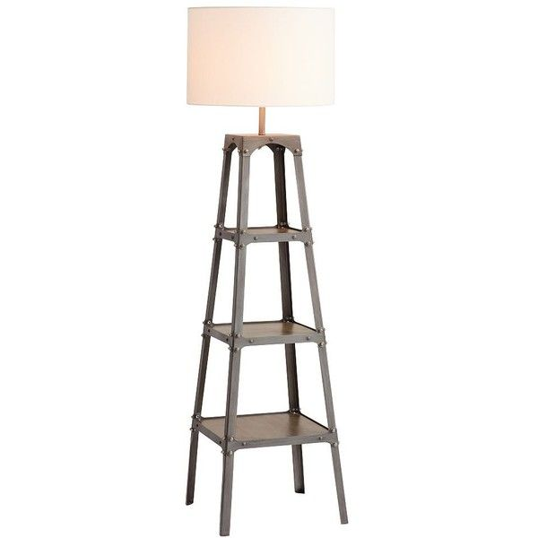 pb teen industrial floor lamp with shade noncfl 260 liked