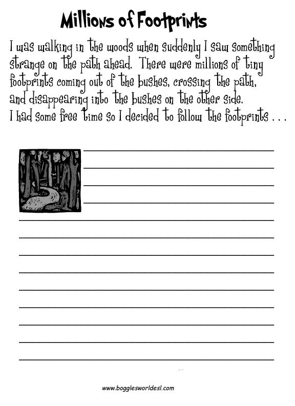 Creative writing homework year 3