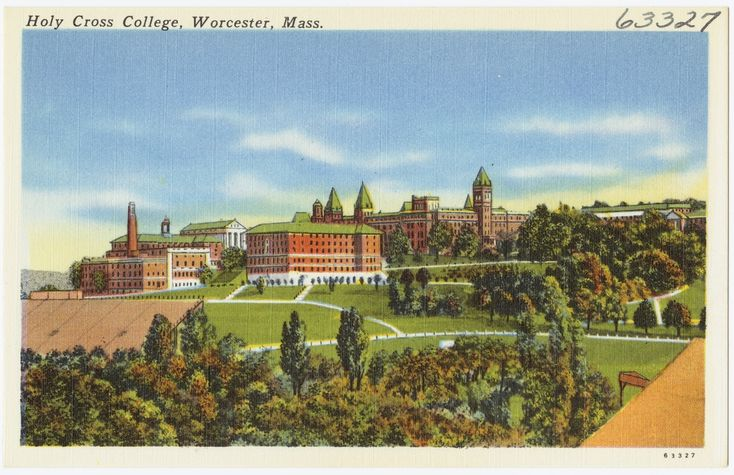 College of the Holy Cross, Worcester, MA; founded in 1843