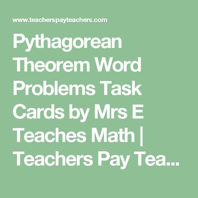 Pinterestu0027teki 25u0027den fazla en iyi Pythagorean theorem problems - pythagorean theorem worksheet