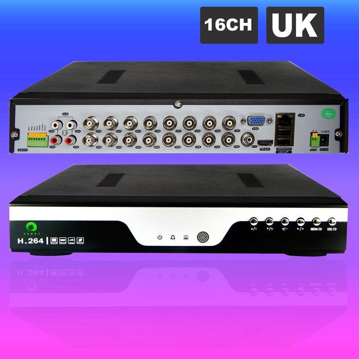 16 8 4 CH 1080P HDMI DVR CCTV Cloud Home Security Digital Video Recorder Network | eBay
