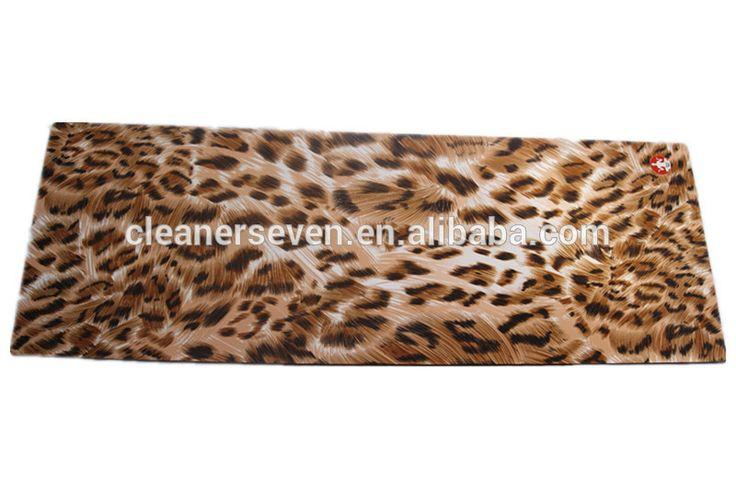Custom luipaard print eco yoga mat, luipaard ontworpen body building fitness& yoga matten