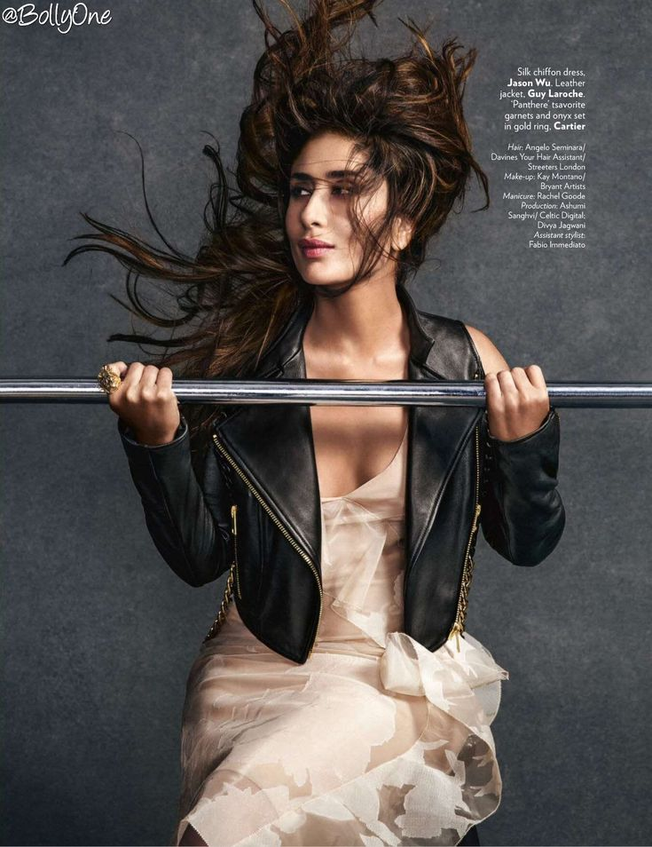 Kareena Kapoor Super Hot & Sexy Scans From Vogue July 2016...