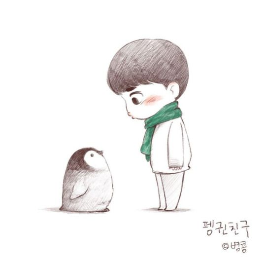 Penguinsoo. Because this reminds me of (Un)happy Feet.
