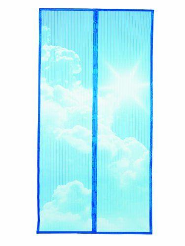 Cheap TV Das Original 02698200487 Mosquito Net with Magnetic Fastener 90 x 210 cm Clouds Motif deals week