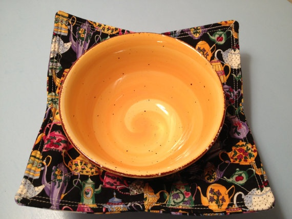 Microwave bowl cozy by hugsandholidays friendship gifts pinterest
