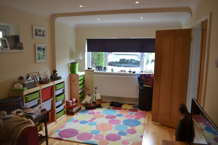 Unique and well thought out garage conversion to create family room. Holmer Green, HP15 - Ash Island Town and Country.