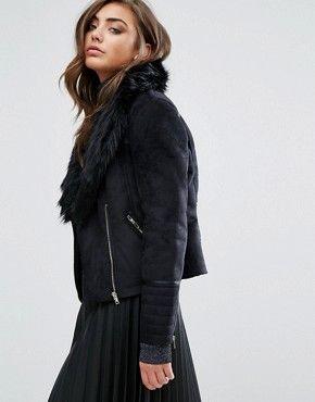 Женские меховые пальто| Пальто и куртки из искусственного меха | ASOS