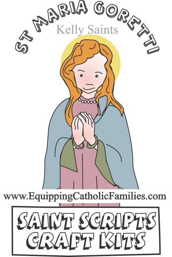 St Maria Goretti feast day crafts & activities
