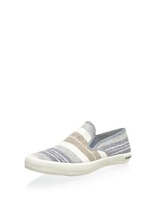 56% OFF SeaVees Men's Baja Surfari Slip-On (Oatmeal Poncho Stripe)