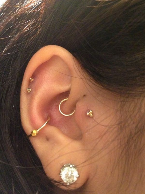 Inner & Outer Conch Piercing (2)