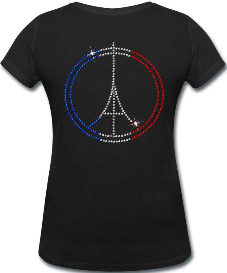 SPANGLE Pray for Paris Shirt