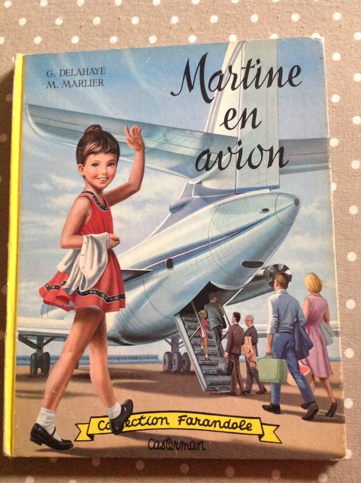 Martine en Avion - (Marcel Marlier) [BDNET.COM]