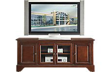 Home entertainment centers and TV stands. Media consoles for home electronics. Sizes range from small TV cabinets to large entertainment center wall units.