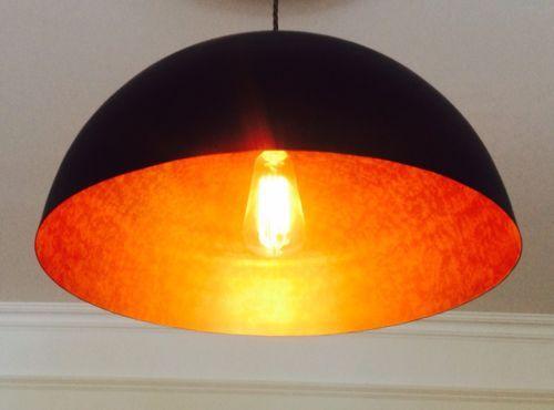 27 best lights images on pinterest light fixtures light design metal ceiling lampshade pendant light shade industrial black aloadofball Choice Image