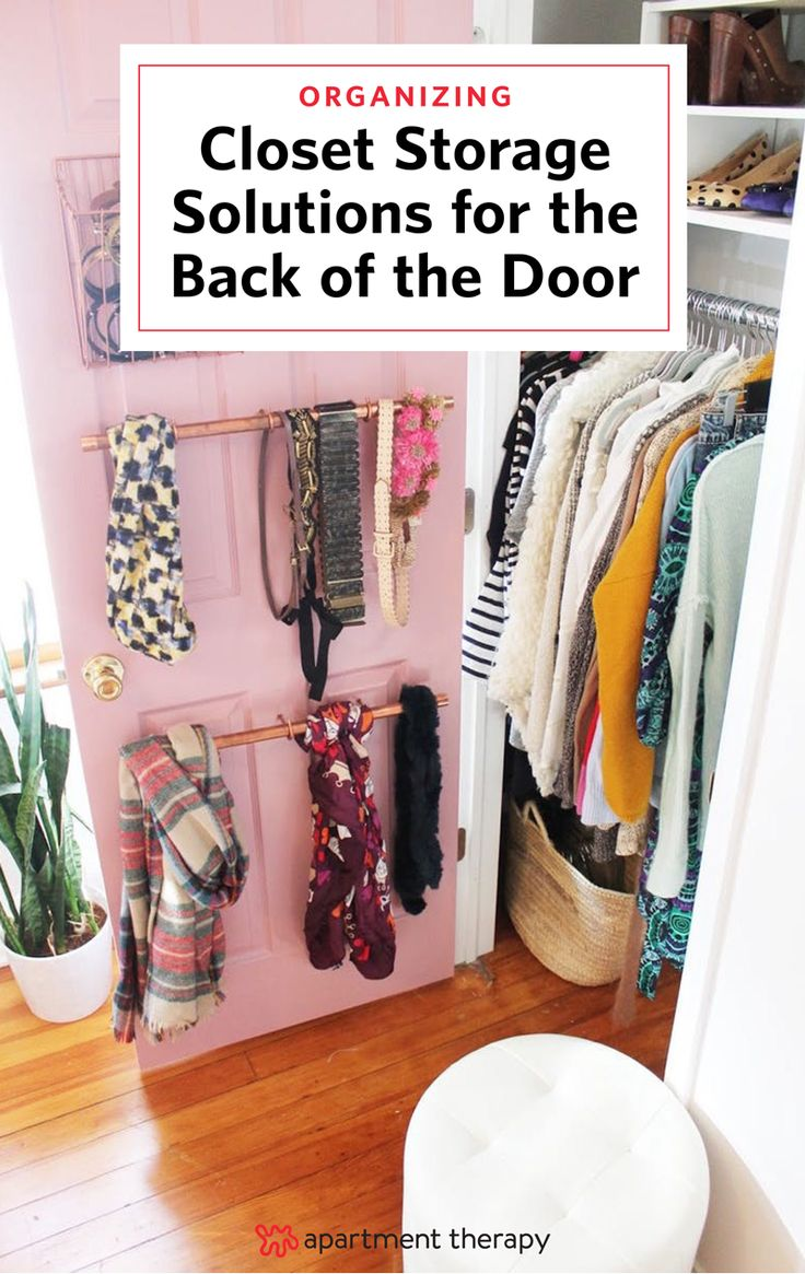 221 best images about closets clothes storage apartment - Small closet door solutions ...
