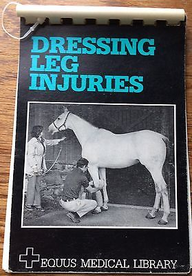 The Equus Medical Library Dressing Leg Injuries A Pictorial Guide Kit List And I