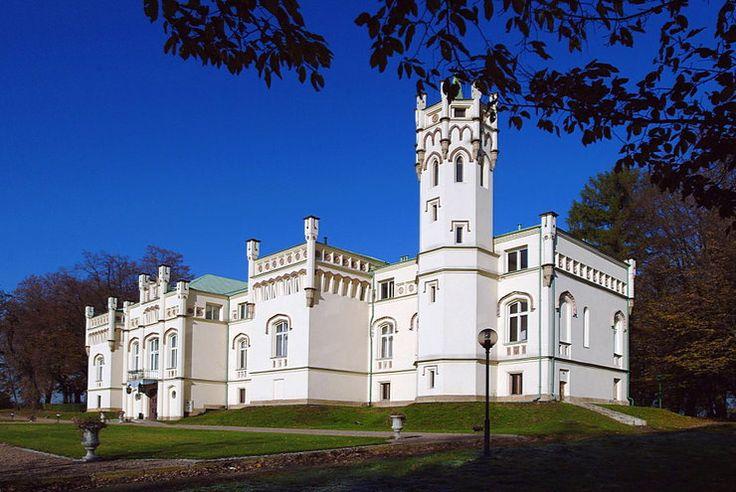 Pałac w Paszkówce