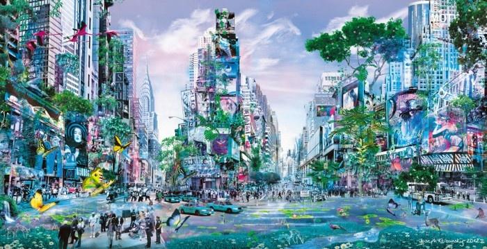 Garden of Evolution by Joseph Klibansky