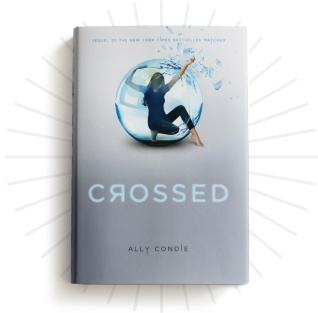 CROSSED by Ally Condie--This series will be as big as Hunger Games and Twilight. Disney's already bought the rights.