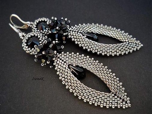 IrenaK / Slza Jet #beadwork