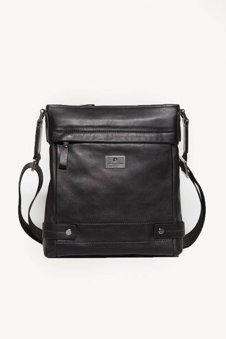 Square Black Sling Bag
