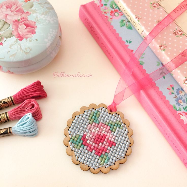 Cross stitch wood