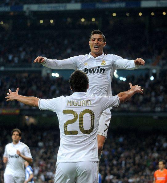 Cristiano Ronaldo, Gonzalo Higuain