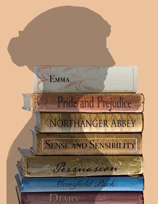 Austen's Long Shadow Set of 4  Jane austen Note by TurtleDoves