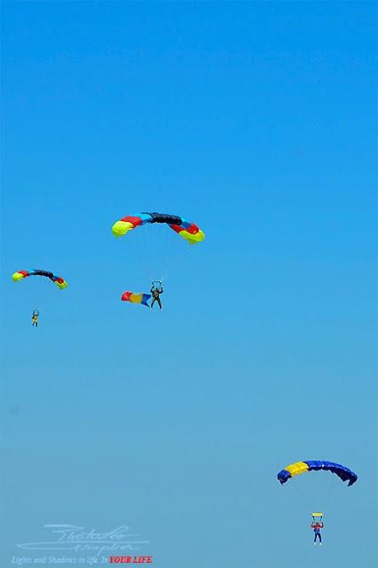 The National Team of Parachutists - Romania