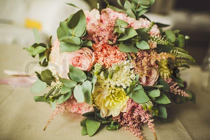 Stock foto af 'Dekoration af bryllup blomster'