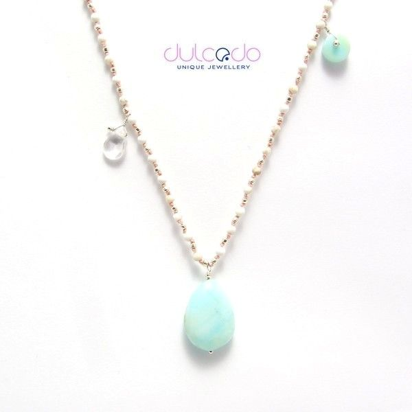 With opal - DULCEDO biżuteria - jewellery is like clothes, I feel naked without it