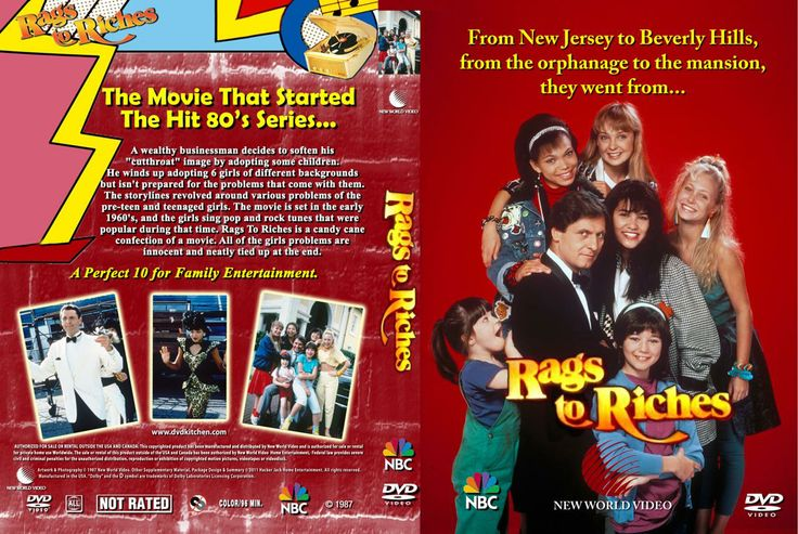 Rags to Riches movie - wish I could find this somewhere!