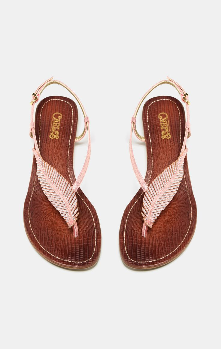 Pink feather sandal!!! NEED