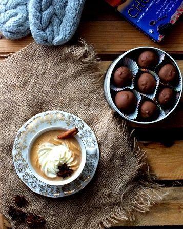 Dyniolada- dyniowa gorąca czekolada